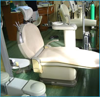 歯科医院内の診療ブース